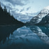 Calm in the Canadian Rockies