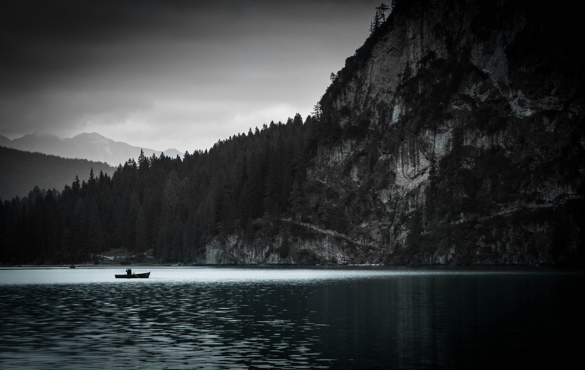 Photograph Dark Braies by Michele Fornaciari on 500px
