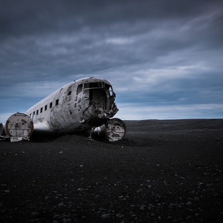 old DC-3 wreck