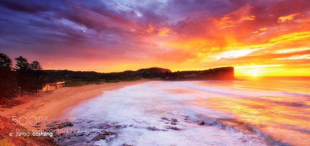 Photograph Sunrise over Avalon Beach by Jarrod Castaing on 500px