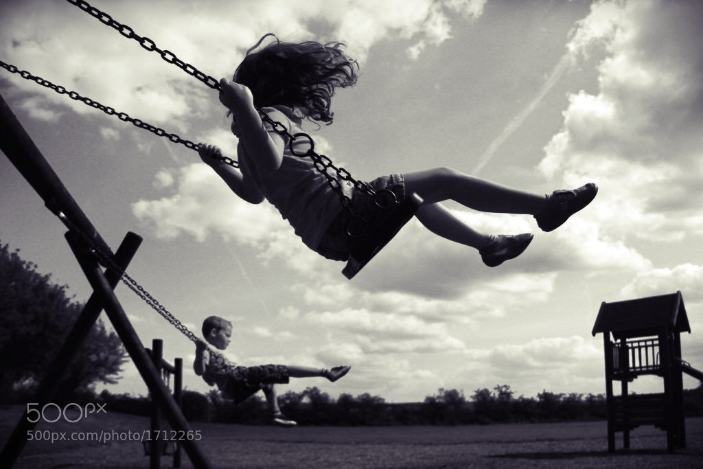 Photograph Swinging by Skip Brown on 500px
