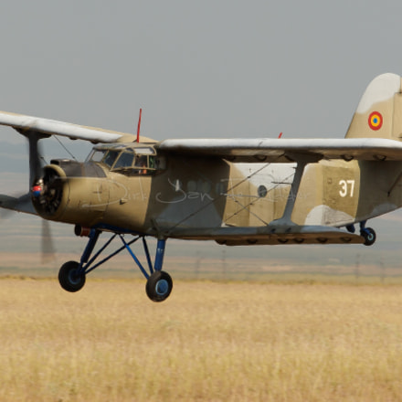 Romanian Air Force An-2R, Canon EOS 20D, Canon EF 70-200mm f/2.8 L