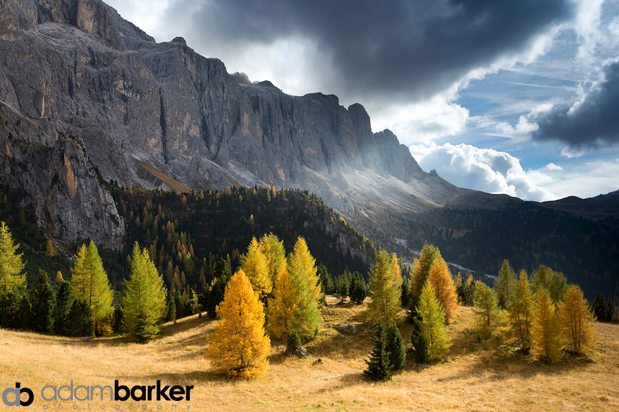 Photograph Dolomite Fall by Adam Barker/AdamBarkerPhotography.com on 500px