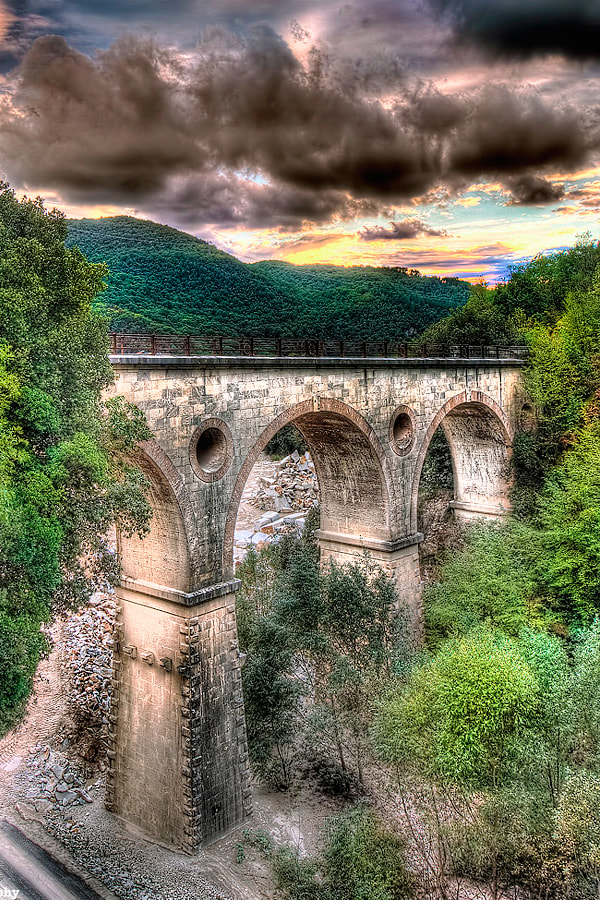 Photograph Ancient Stone Bridge by Roberto Becucci on 500px