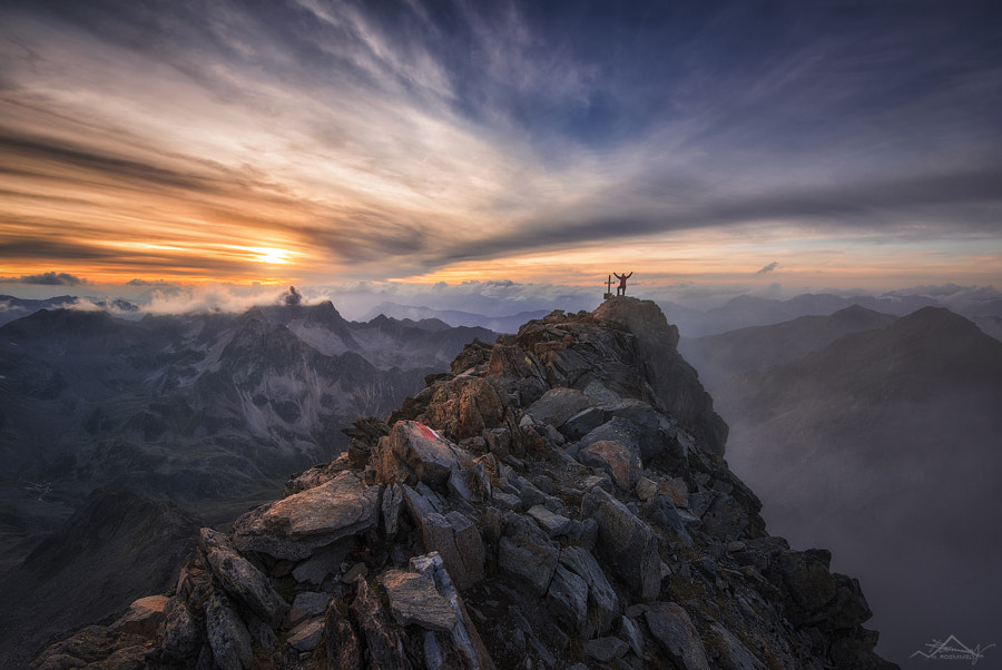On top of the world by Nicholas Roemmelt on 500px.com