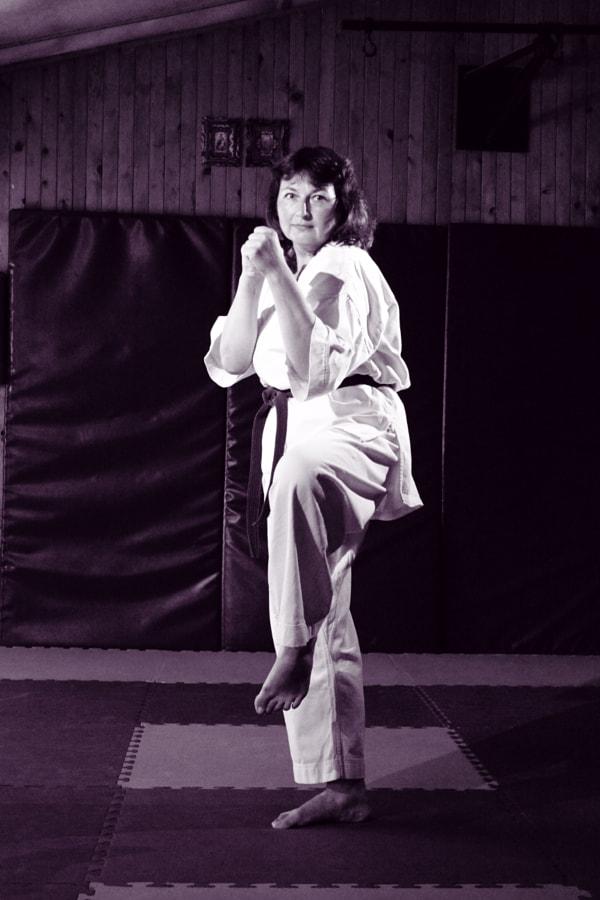 Karate woman, автор — Yaroslav Baran на 500px.com