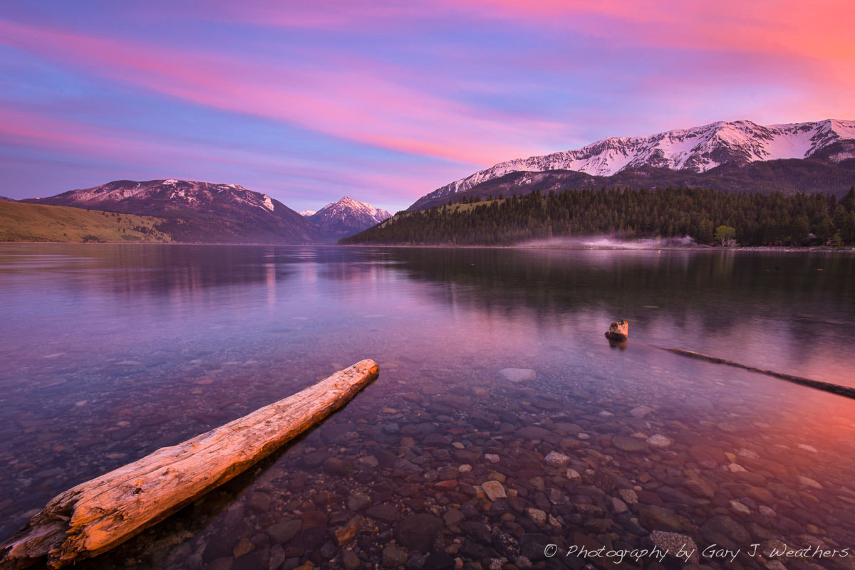 Photograph Sunset, Wallowa lake by Gary Weathers on 500px