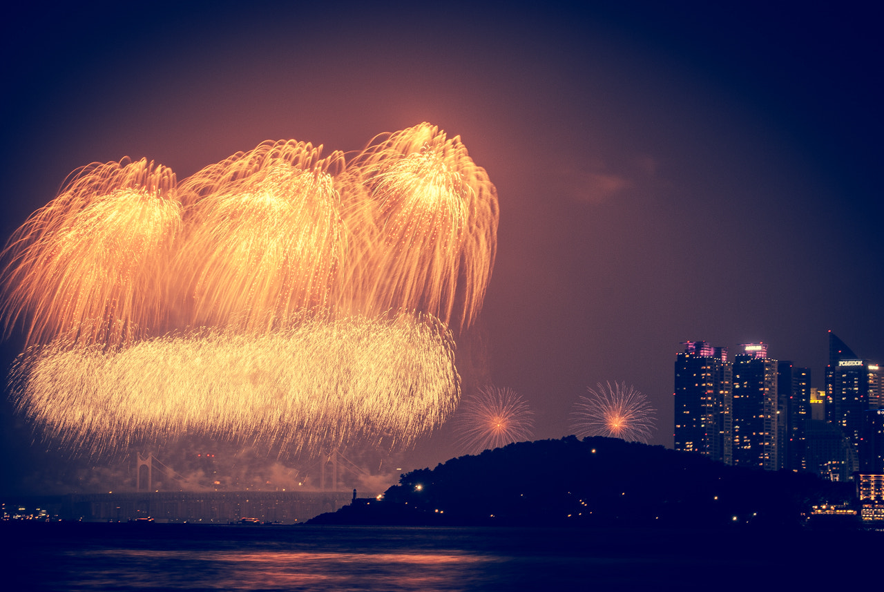 Photograph Fireworks by LEE GEON on 500px