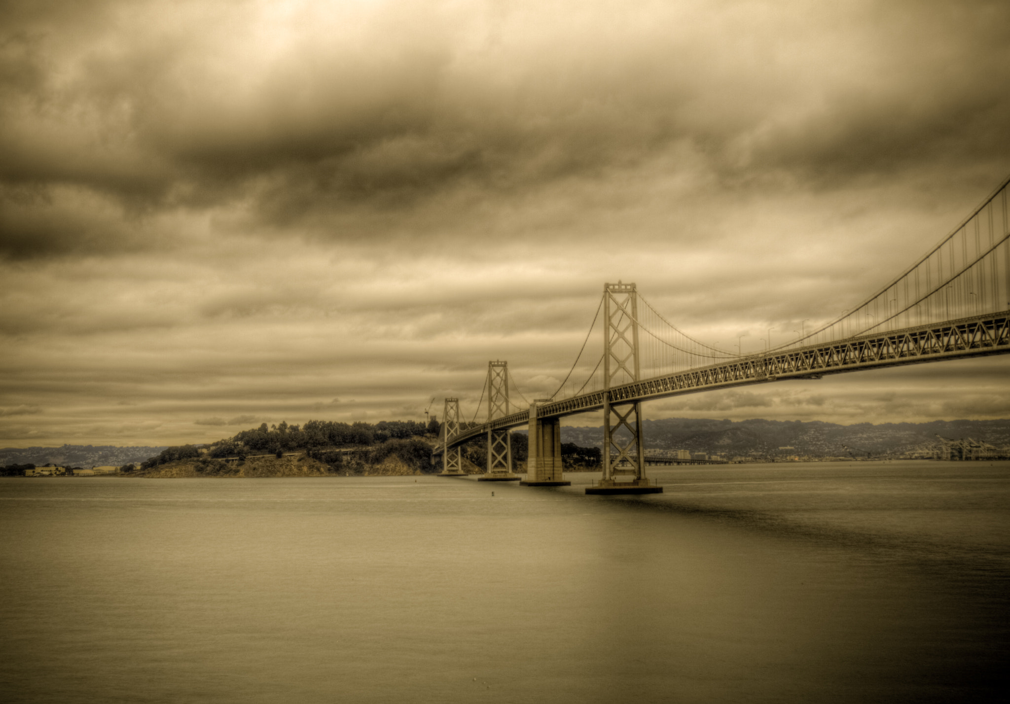Photograph Bay Bridge by Brent Fishman on 500px