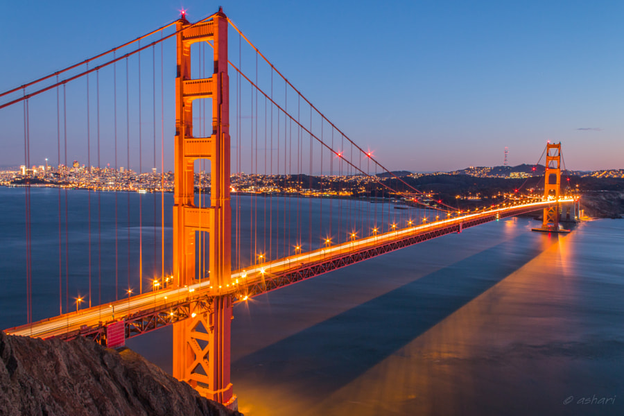 The Golden Gate by Hari on 500px.com
