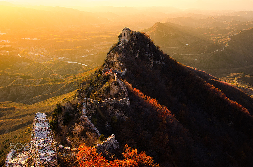 Photograph Simatai Great Wall-Heavenly Bridge by Isaac Si on 500px