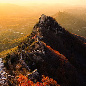 Simatai Great Wall-Heavenly Bridge by Isaac Si on 500px.com