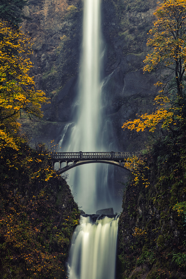 Photograph Multnomah Falls by Ryan Painter on 500px