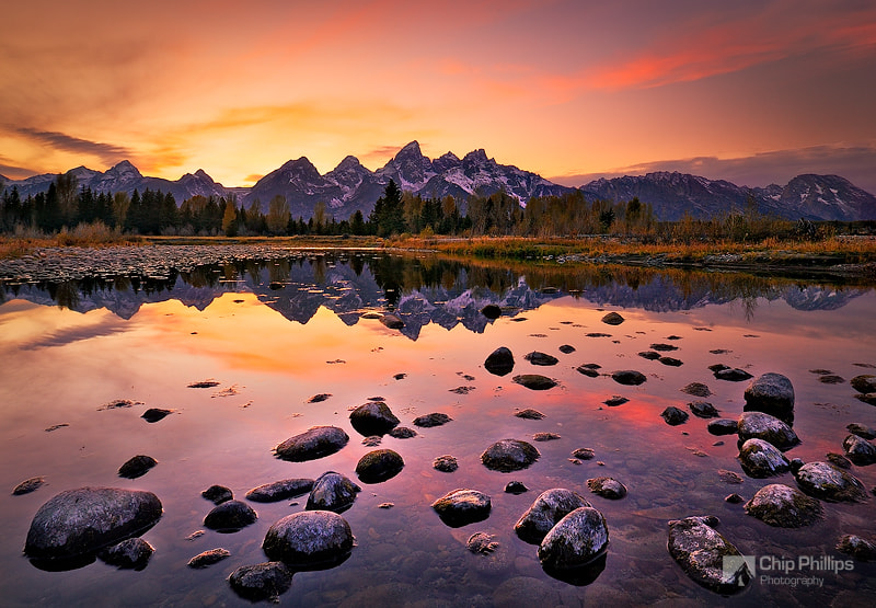 Photograph Grand Teton Sunset by Chip Phillips on 500px