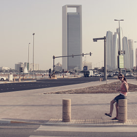 Abu Dhabi Skyline (repost)