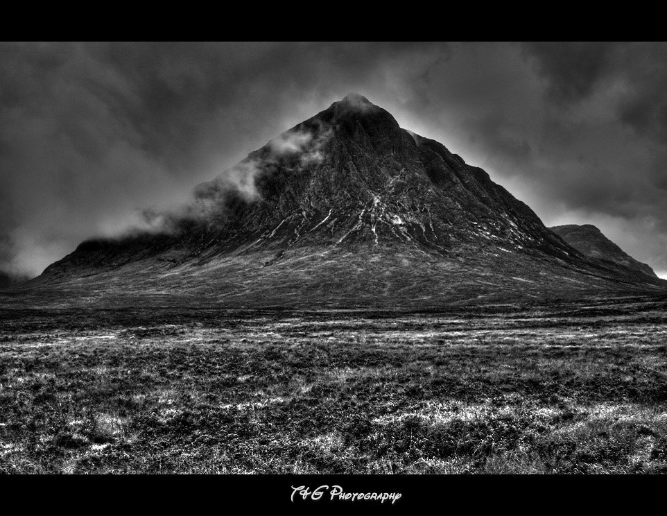 Photograph Glencoe black & white by T&G Photography  on 500px