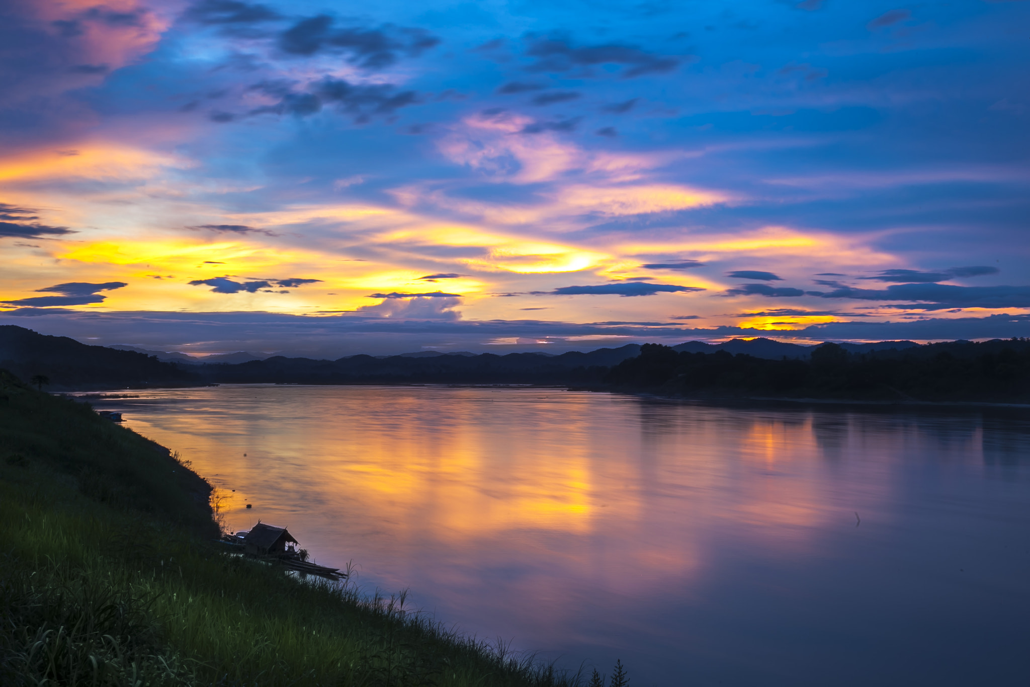 Photograph Chiang Khan Sunset by Asher Lwin on 500px