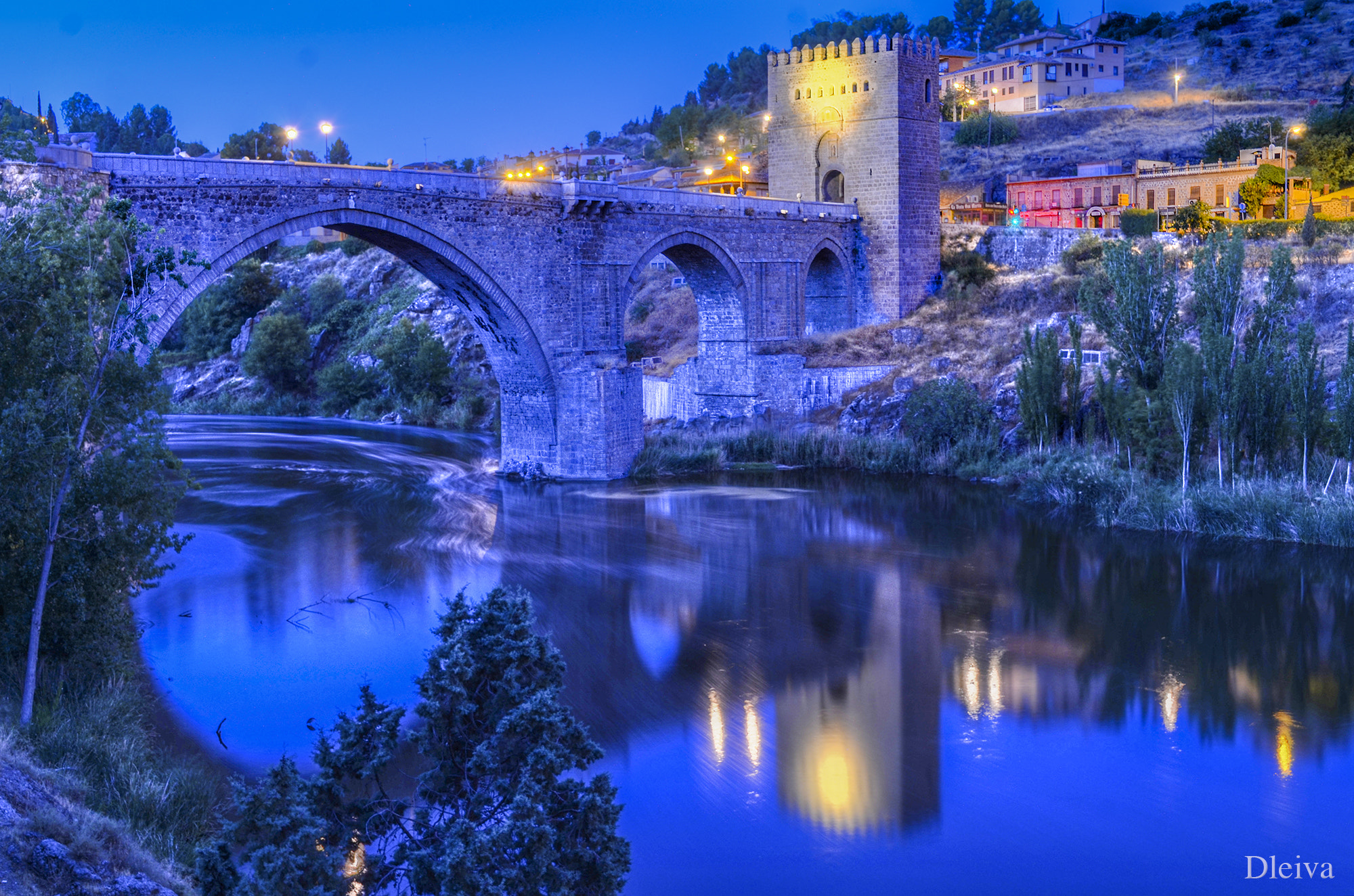 Photograph Toledo, San Martín Bridge (Spain) by Domingo Leiva on 500px