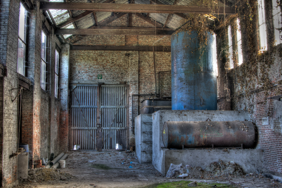 Photograph old factory by marleen aerts on 500px