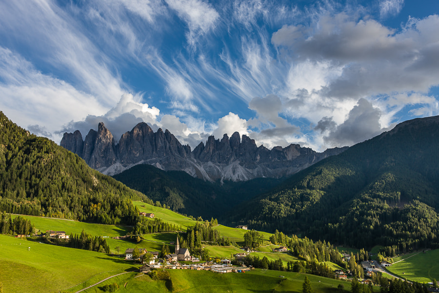 Photograph Santa Maddalena with clouds. by Hans Kruse on 500px