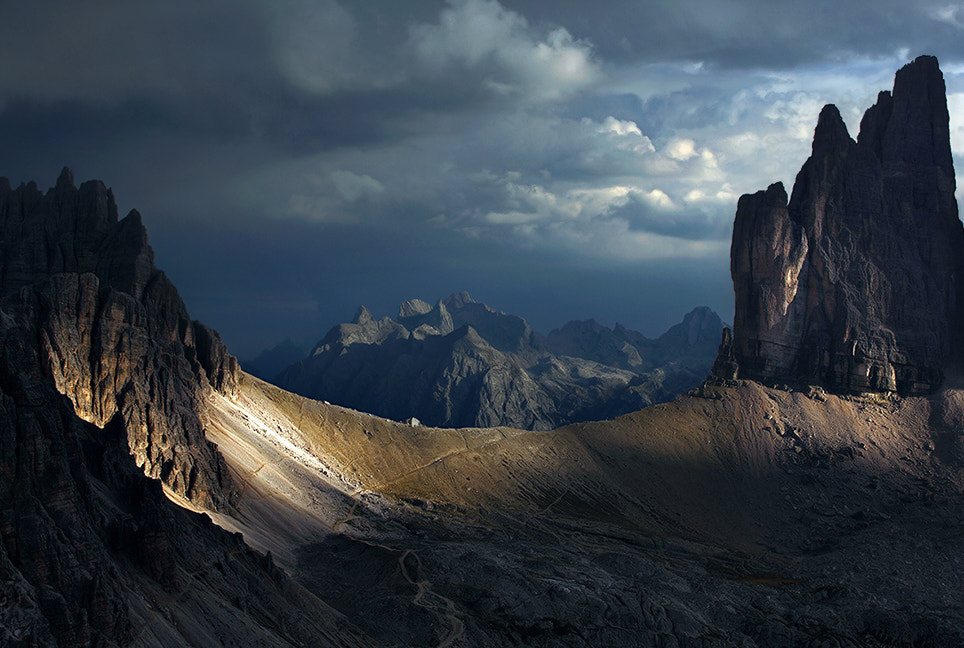 Photograph Dolomites - The Treshold by Kilian Schönberger on 500px