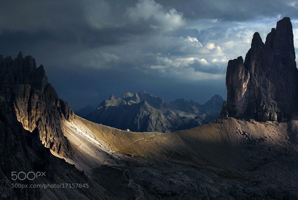 Photograph Dolomites - The Treshold by Kilian Schönberger on 500px