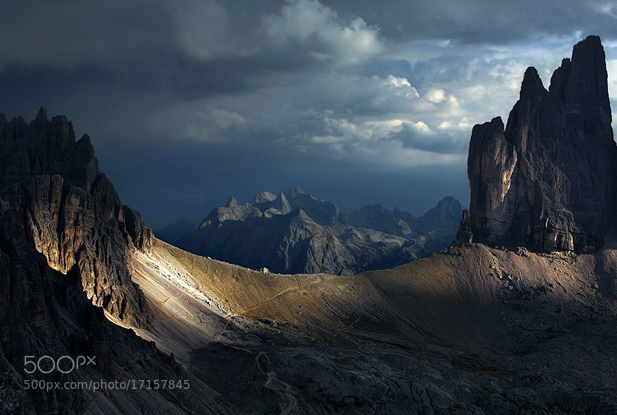Dolomites - The Treshold by Kilian Sch?nberger on 500px.com