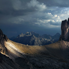 Dolomites - The Treshold by Kilian Schönberger (kilianschoenberger)) on 500px.com