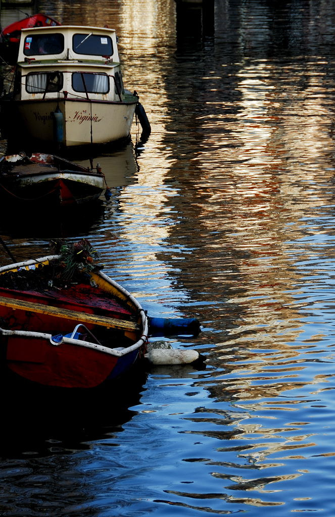 Photograph Boats on a River by whopaintdsky  on 500px