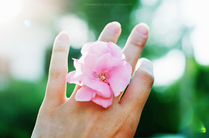 Photograph Light and flower in my hand by Julia Krasovskaya on 500px