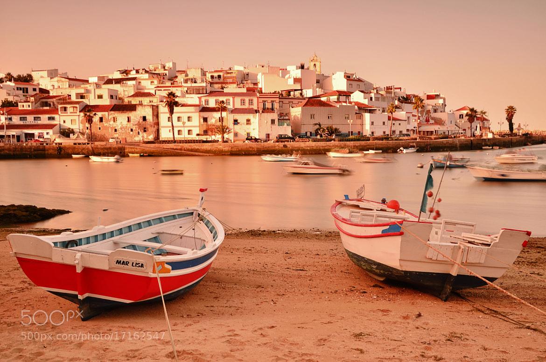 Photograph Fishing Village at Dawn by Csilla Zelko on 500px