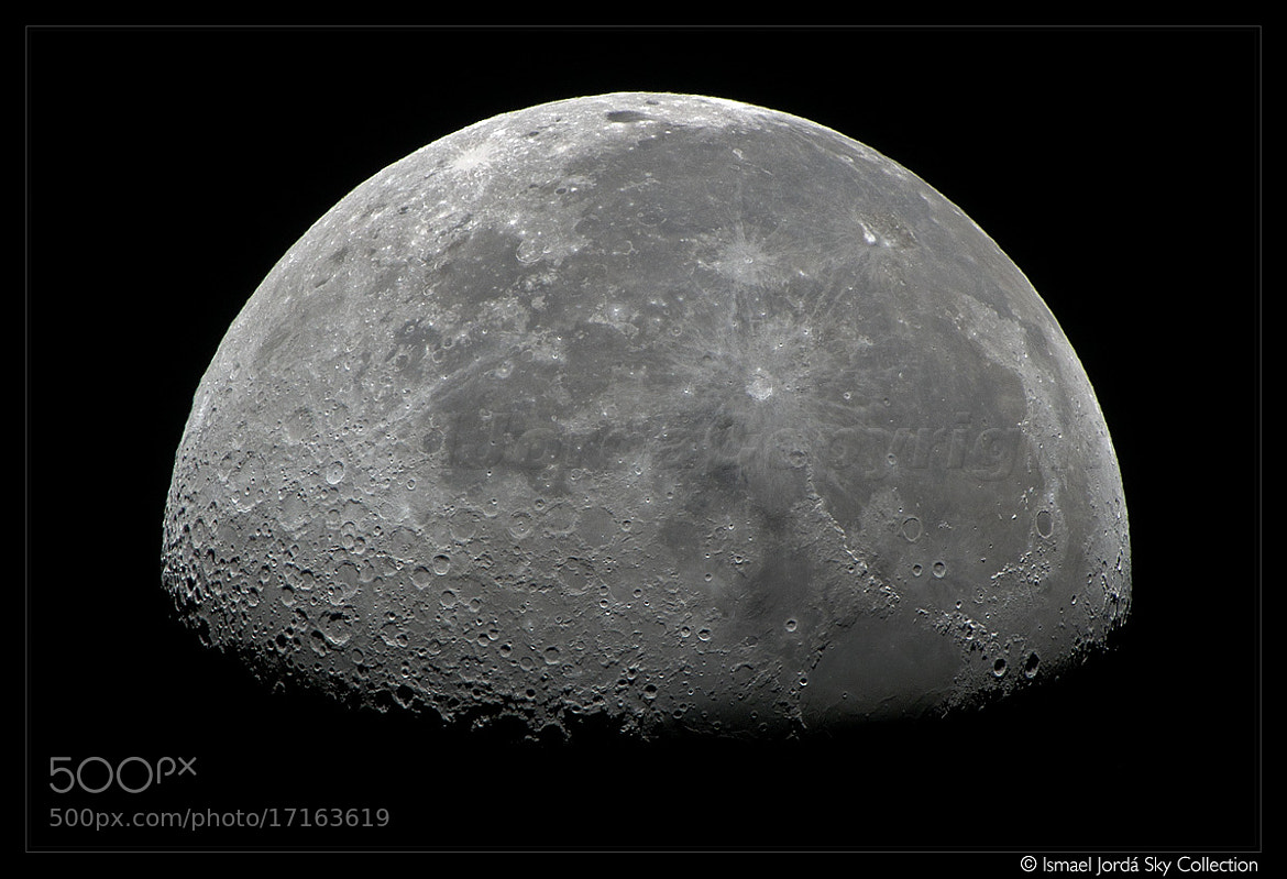 Photograph Lunar Map VI (2012) by Ismael Jordá on 500px