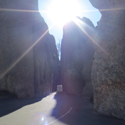 Natural tunnel in South, Canon POWERSHOT ELPH 520 HS
