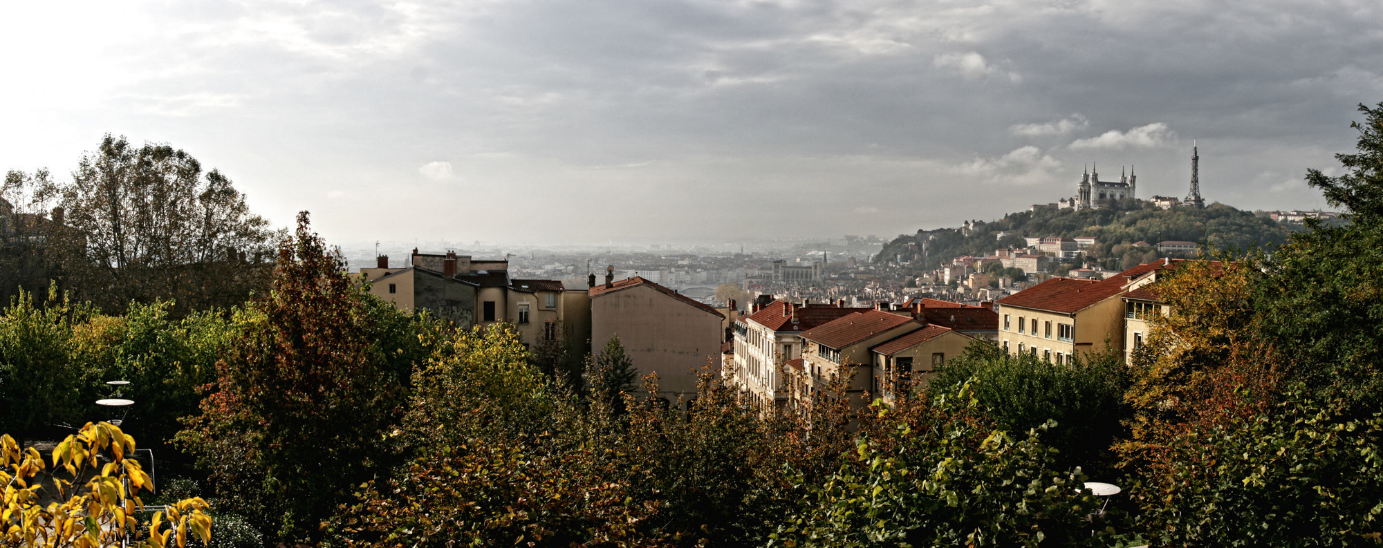 Photograph Lyon from La Croix-Rousse by Arnaud  on 500px