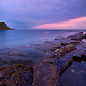 Last light at Kimmeridge by Rachael Talibart (RachaelTalibart)) on 500px.com