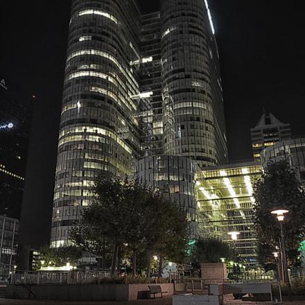 La Défense Centre By Night - Paris