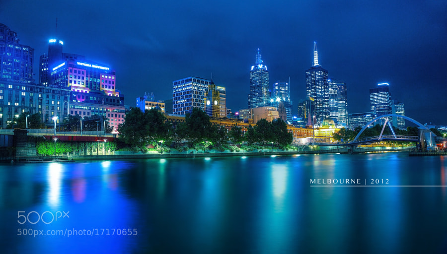 Photograph { Melbourne by night } by Thai Hoa Pham on 500px