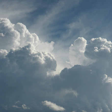Clouds , Panasonic DMC-ZS27