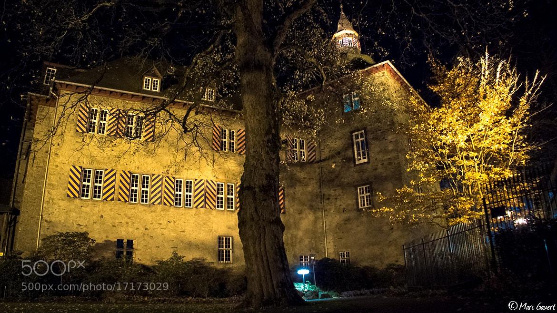 Photograph Oberes Schloss bei Nacht by Marc Gauert on 500px