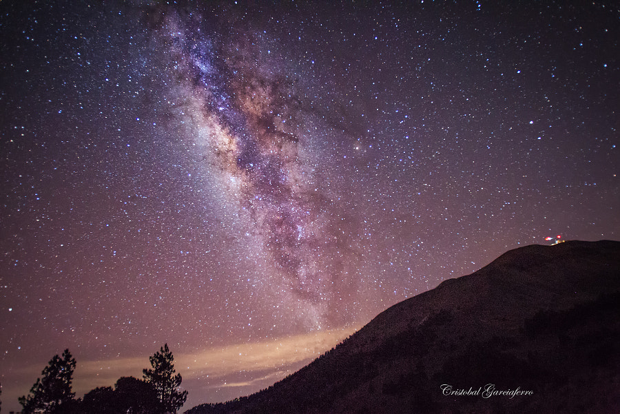 Milky Way and Great Miimeter Telescope at Sierra Negra in Puebla, Mexico by Cristobal Garciaferro Rubio on 500px.com