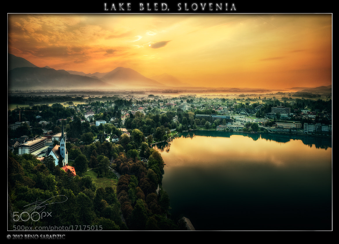 Photograph Lake Bled in Slovenia by Beno Saradzic on 500px