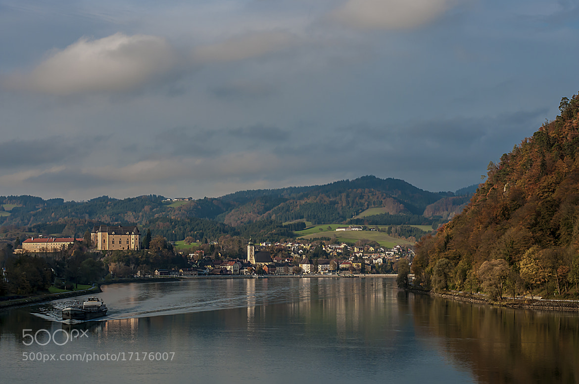 Photograph Blick auf Grein by Leo Pöcksteiner on 500px
