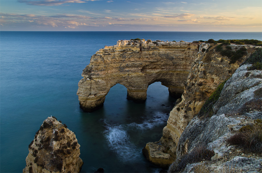 Photograph Praia da Marinha by Chris Jones on 500px