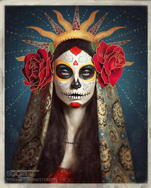Photograph Día de los Muertos <3 Sugar Skull <3 by Julia Kuzmenko McKim on 500px