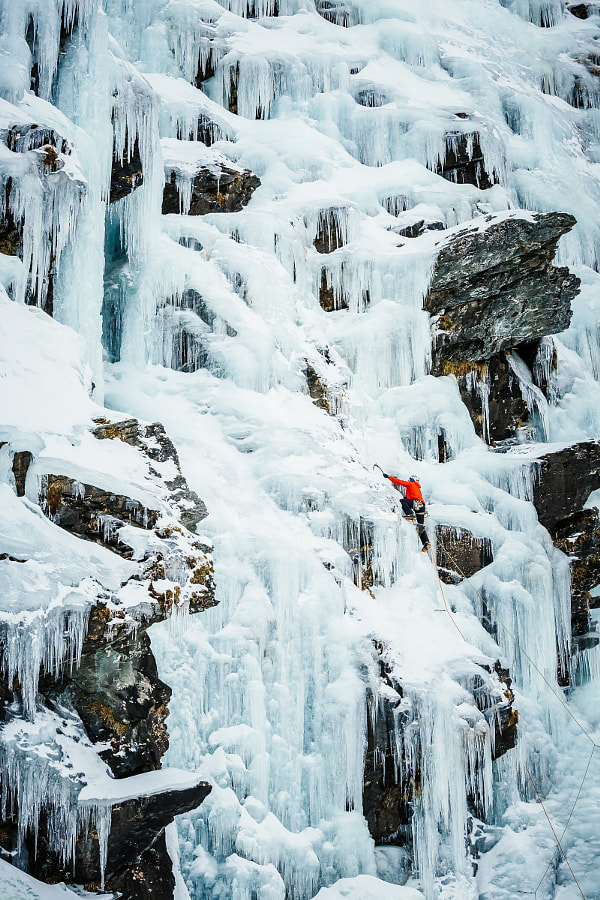 Ice climbing, New Zealand by Andrew Peacock on 500px.com