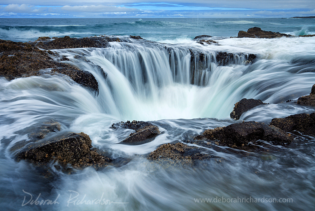 Photograph Thor's Well by Deborah Baker on 500px