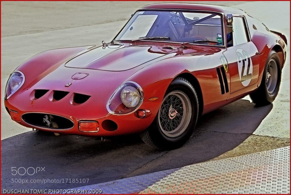 Photograph FERRARI 250 GTO AT LAGUNA by Duschan Tomic on 500px