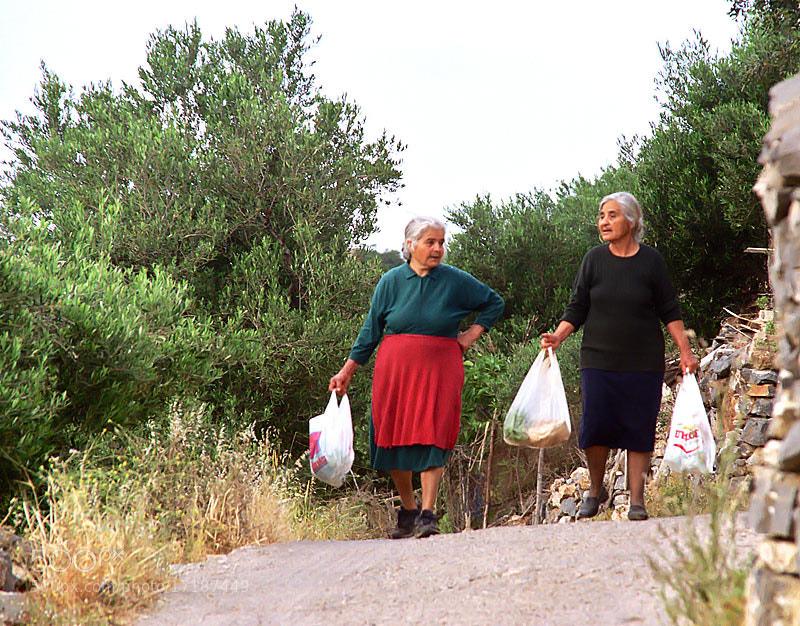 Photograph  THE CRETAN LADIES... by Magda Indigo on 500px