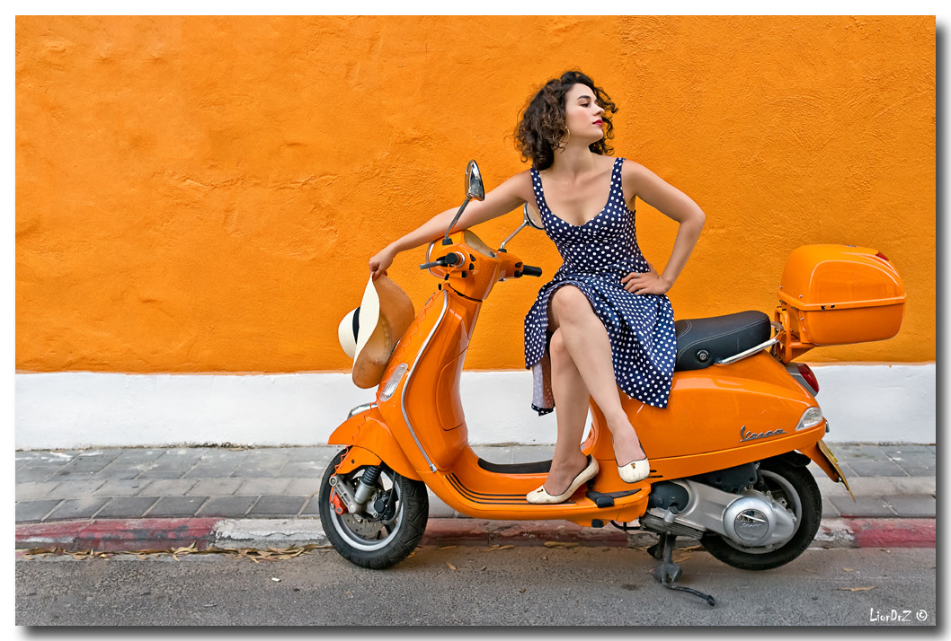 Photograph Orange Shira by Lior Dar on 500px