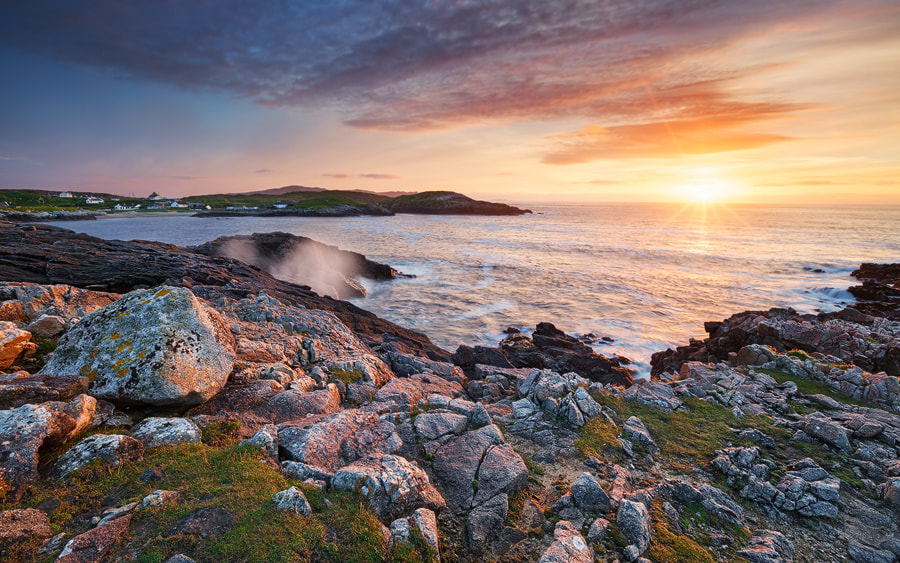 Photograph Atlantic Sunset by Michael  Breitung on 500px